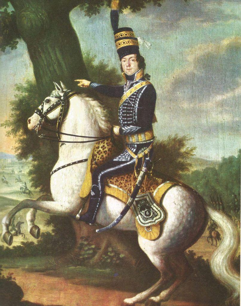 - Colonel du 6ème Régiment de chasseur à cheval – 1ère République -