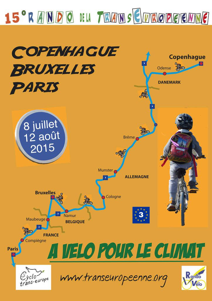 Copenhague - Maubeuge - Paris