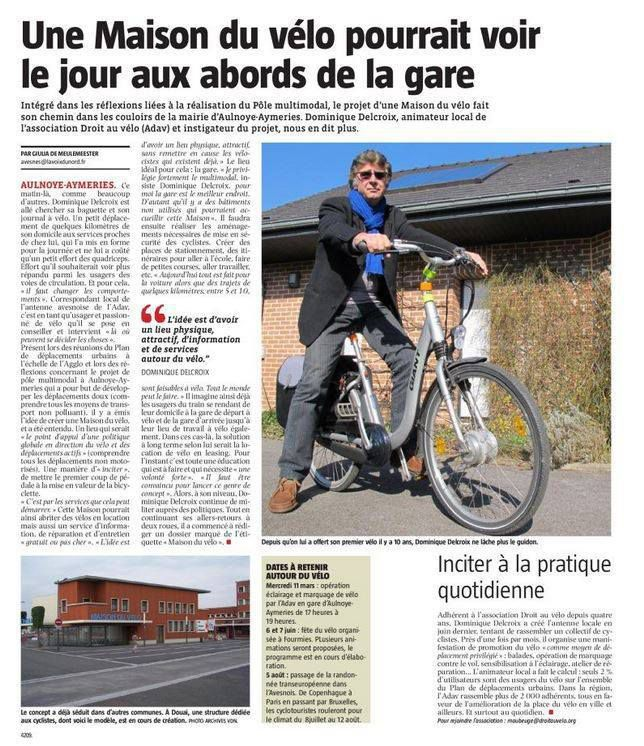 Une maison du vélo...