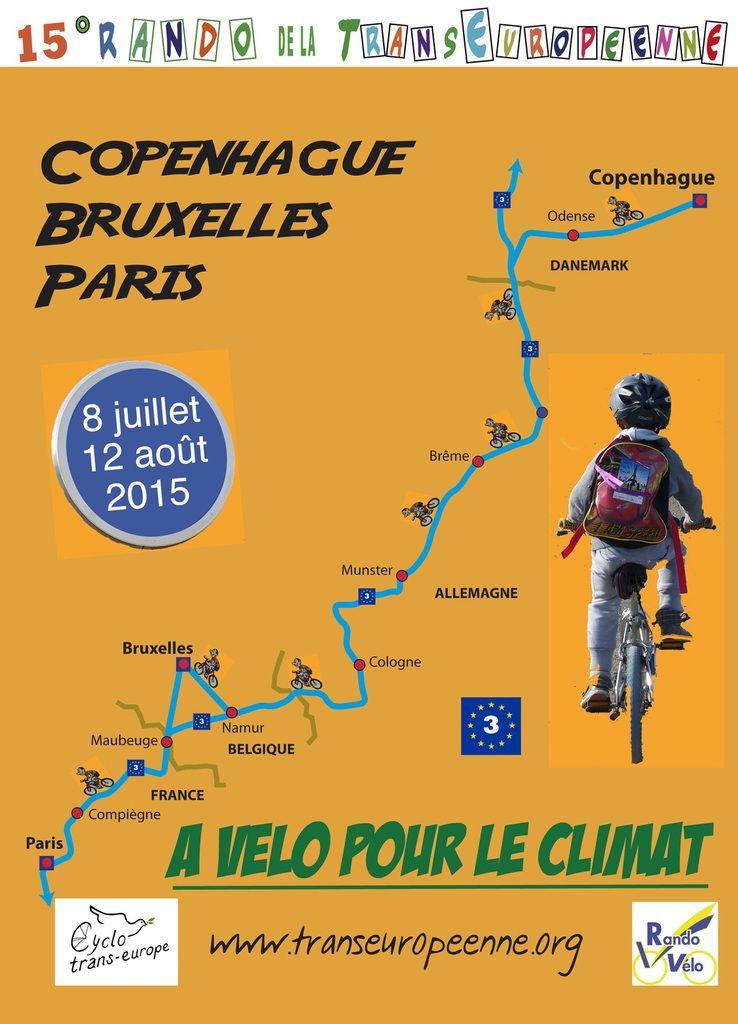 Les 4 Tours à vélo de cet été.