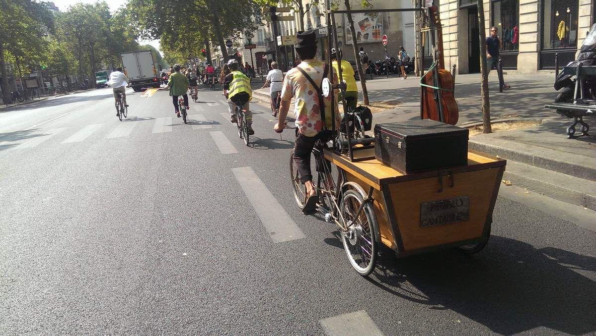 La vélorution de CycloTransEurope, le 12 août