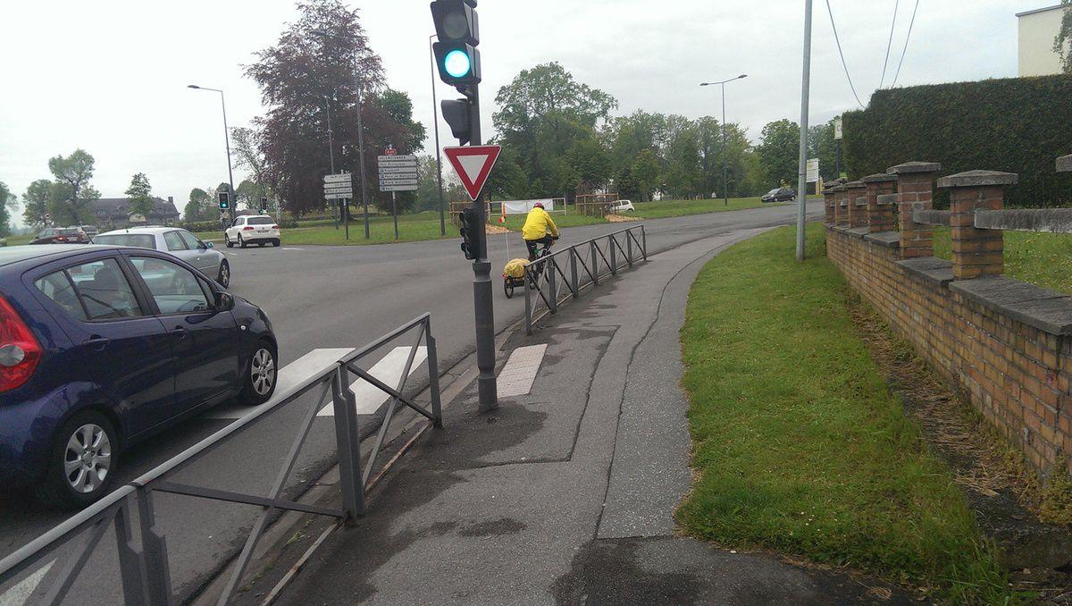 La « continuité » d'un itinéraire vélotouristique…
