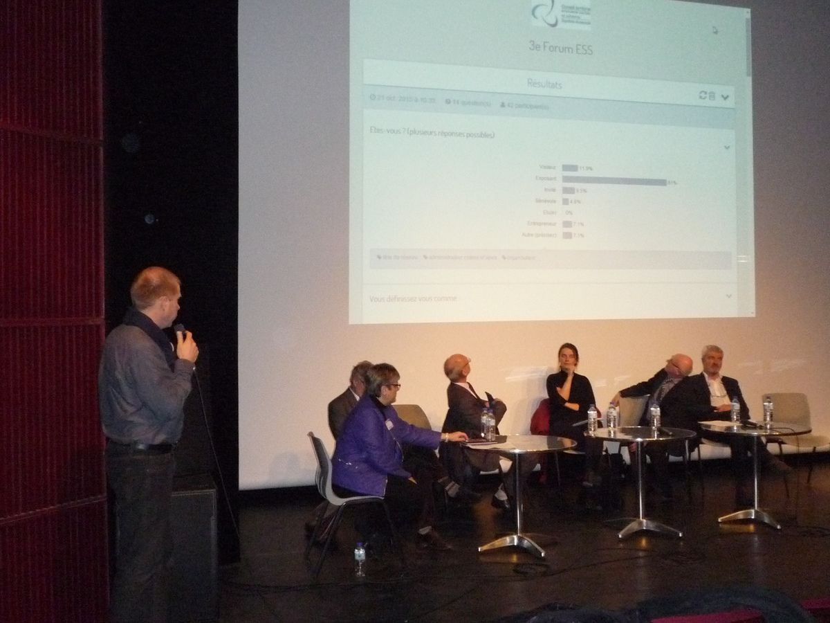 Forum de l'ESS : le bilan.