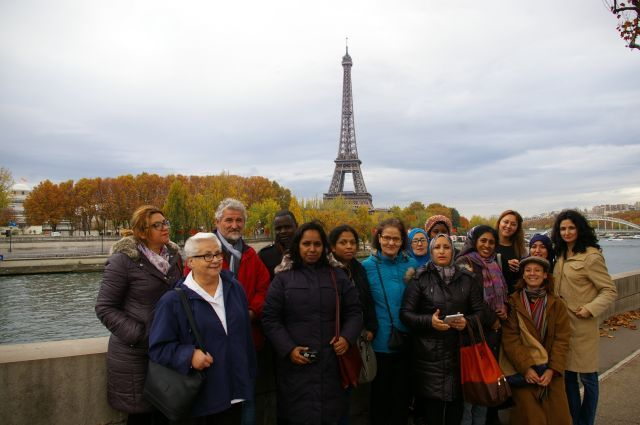 Visite au Quai Branly des Ateliers linguistiques à visée professionnelle