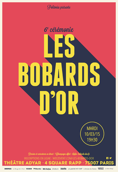 Bobards d'or 2015, c'est parti!