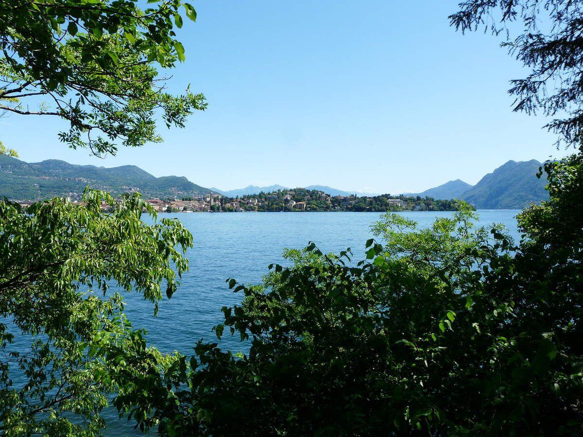Le lac Majeur : isola Madre