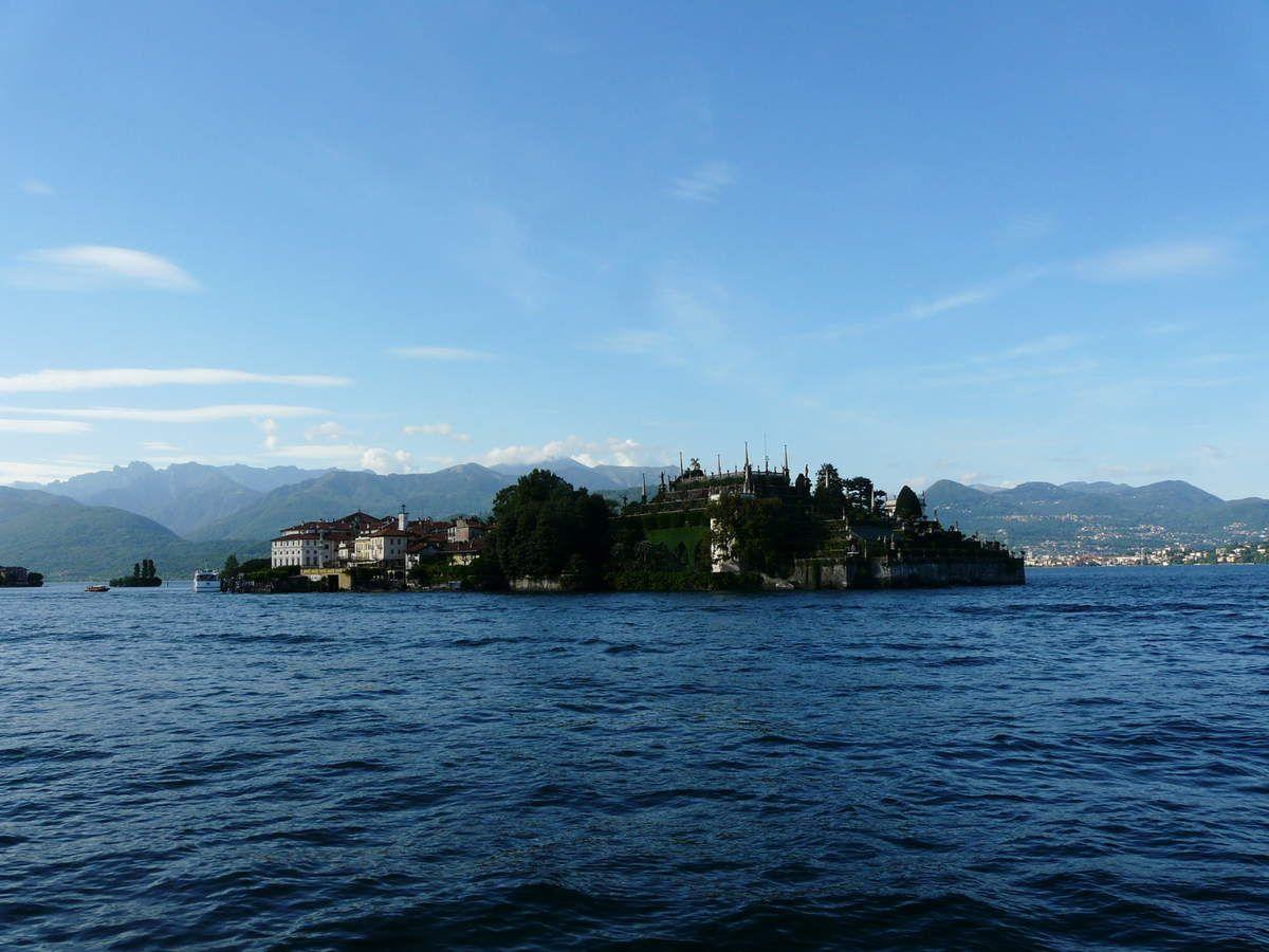 Le lac Majeur : isola Bella