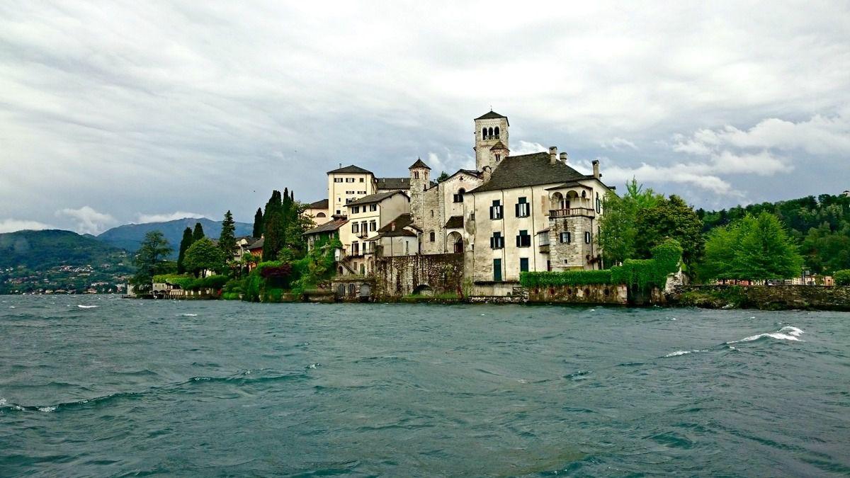 Lac d'Orta et Orta San Giulio