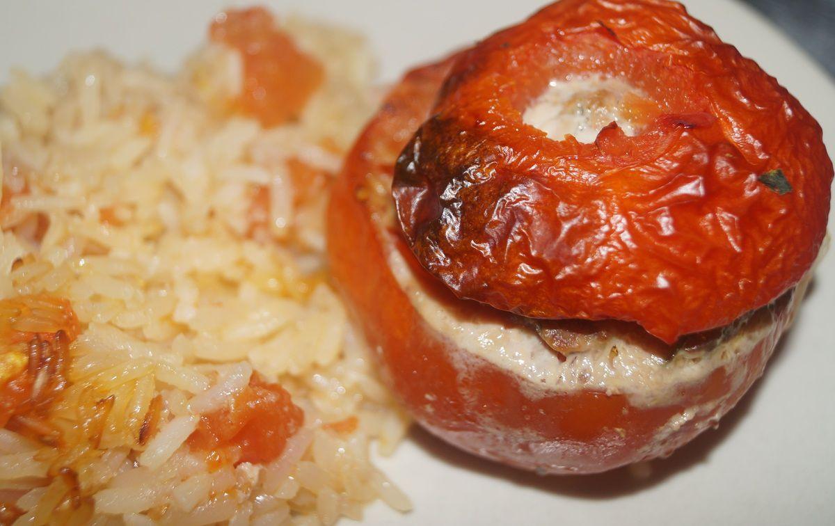 Tomates farcies et son riz (10 SP)
