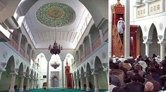 Grande mosquée de Clermont , rue du docteur Nivet