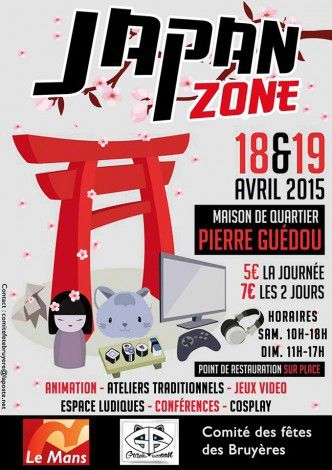 Japan ZONE 18 et 19 avril