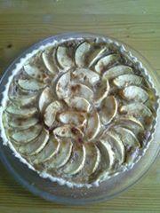 tarte aux pommes et spéculoos