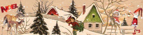 *Swap de l'Hiver : &quot&#x3B; l'esprit de Noël...&quot&#x3B; *  swap en crous .... (inscriptions cloturés)