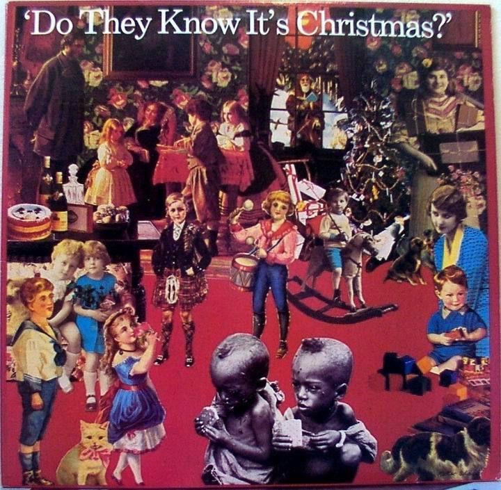 La carátula de Do They Know It's Christmas?, fué realizada por Peter Blake