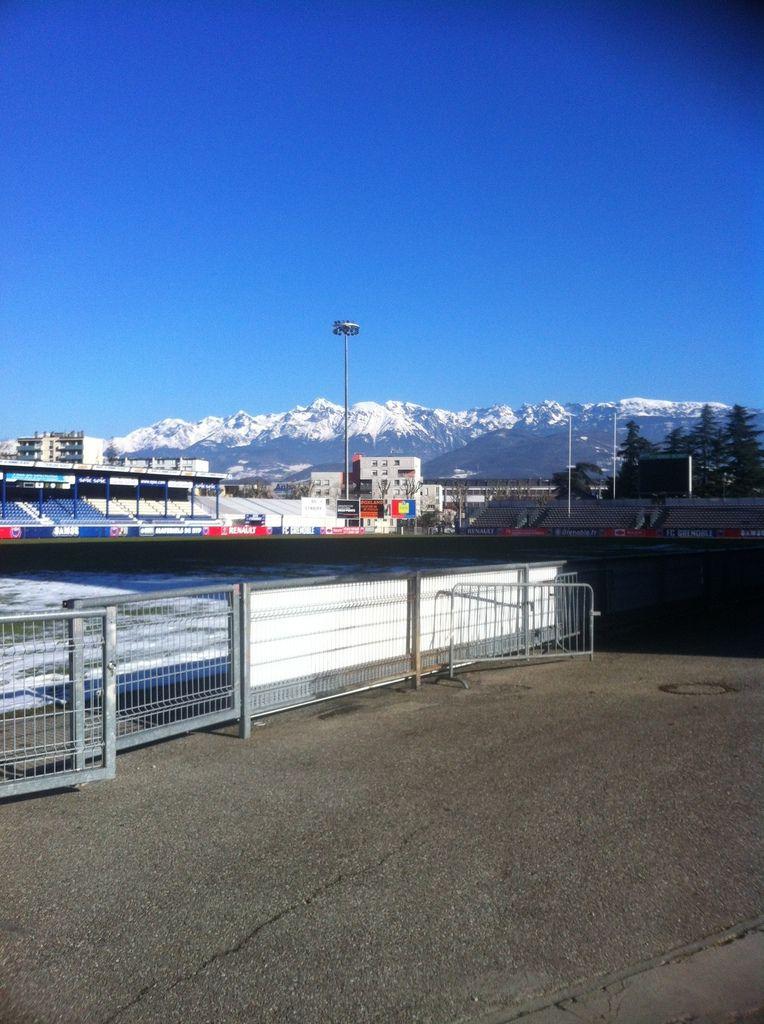 Stade Lesdiguières de Grenoble