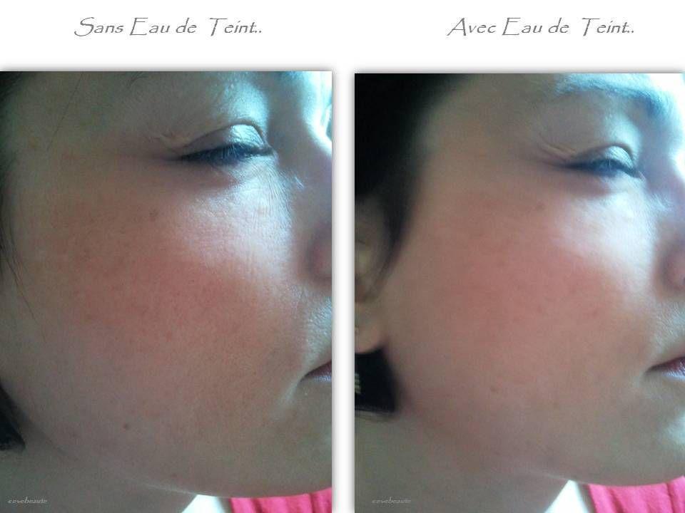Une peau de velours avec L'Eau de Teint de L'Oréal....