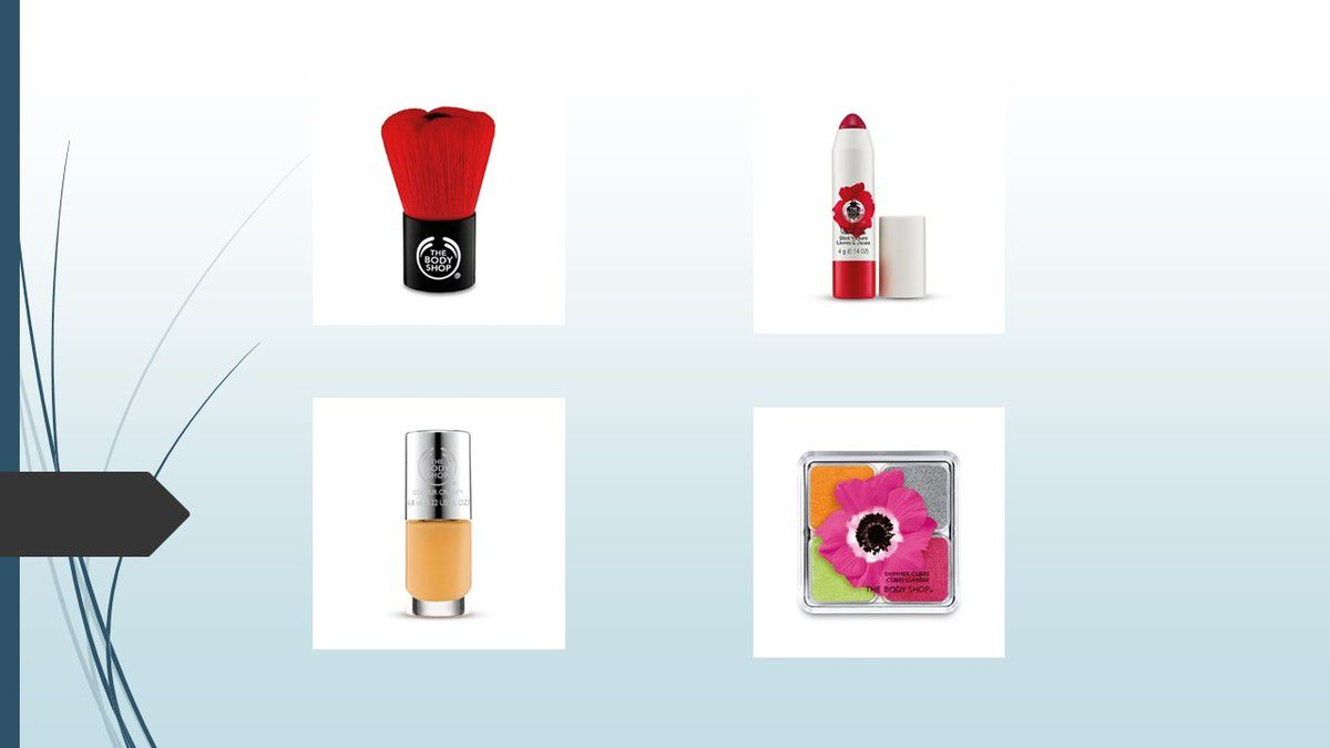 Osez Smoky Poppy....la collection limitée The Body Shop..