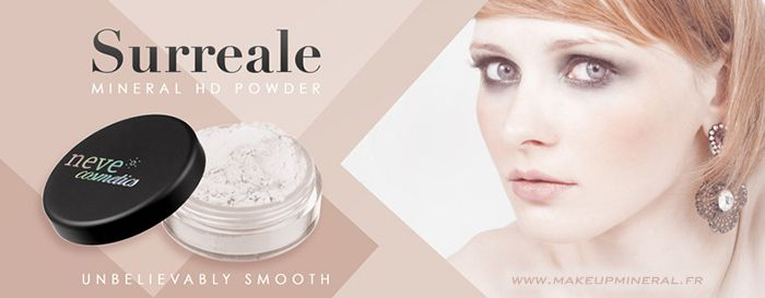 SURREALE,la nouvelle HD Powder de Neve Cosmetics....