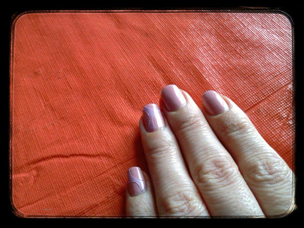 Nail Art Tout Doux avec Née Jolie....