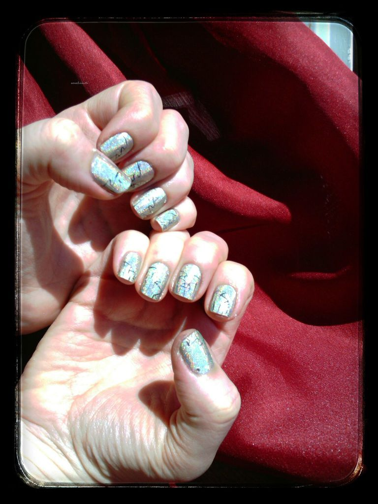 Nail art voilage, repoduction sakura....