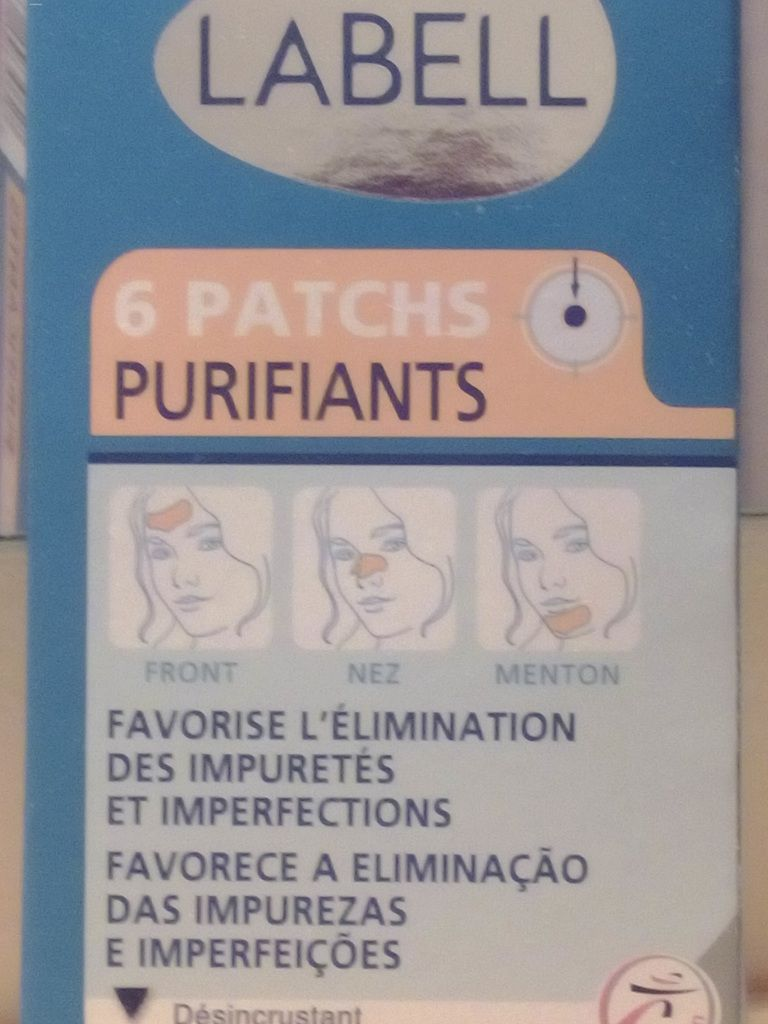 Patchs Purifiants LABELL ( nez, front, menton )....