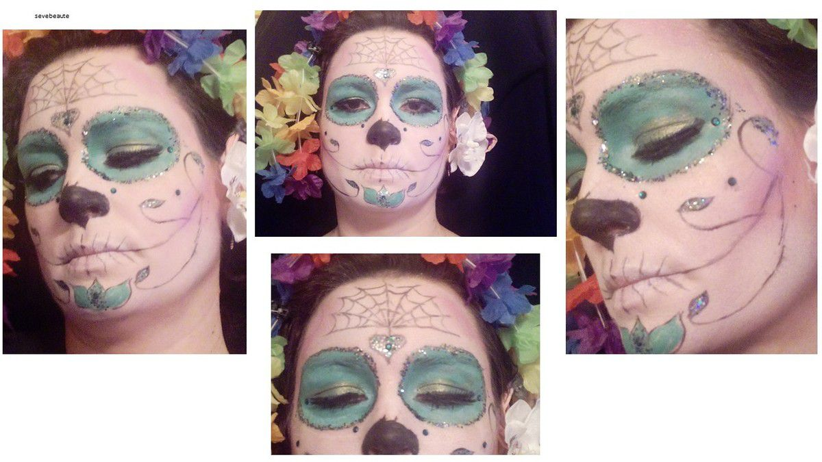 Maquillages Halloween....