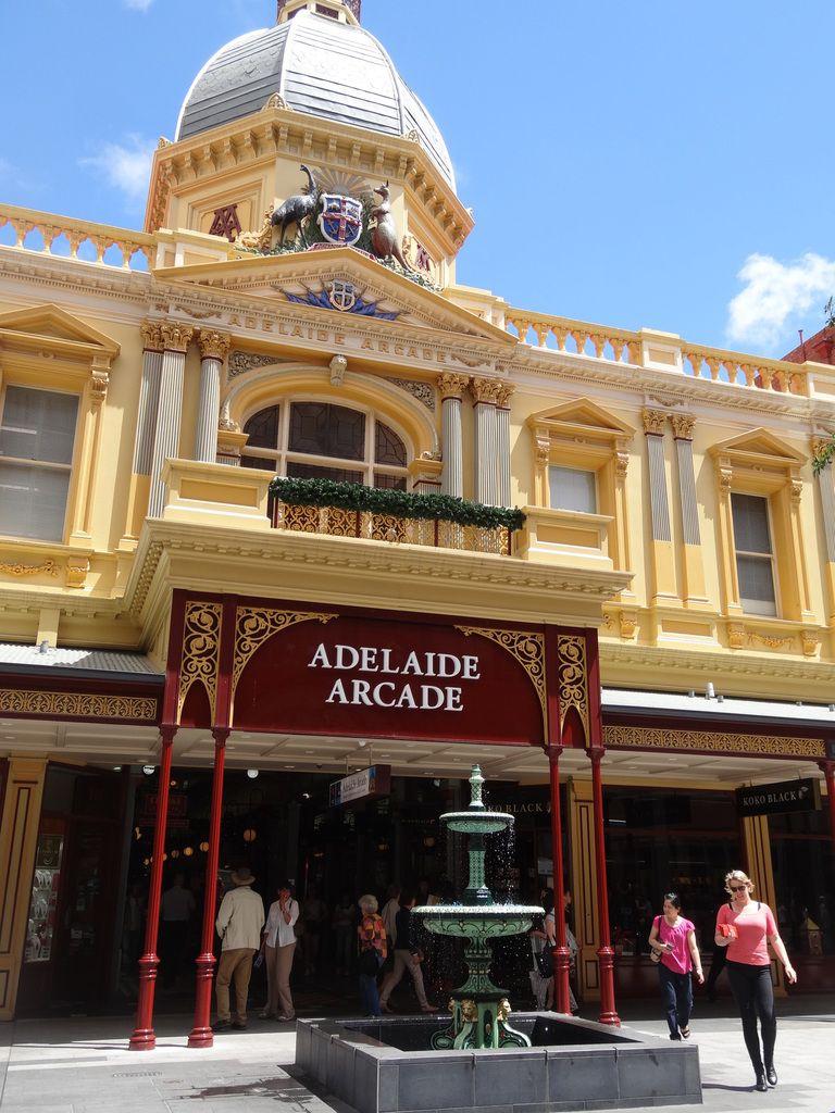 En direction d'Adelaide