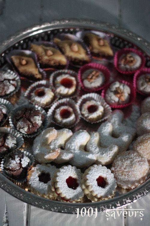 Ghribyas (ou ghribas) aux noix