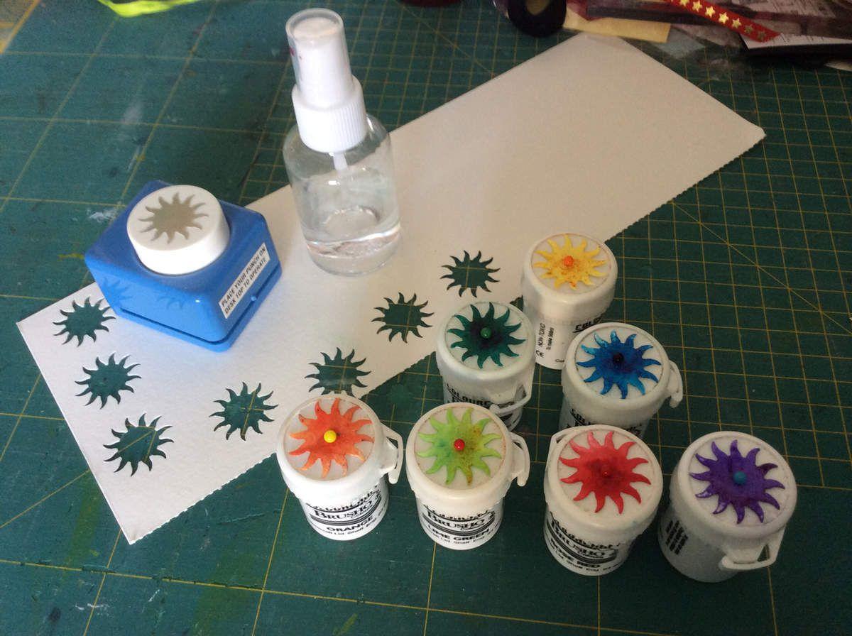 Scraproom : comment ranger les brushos