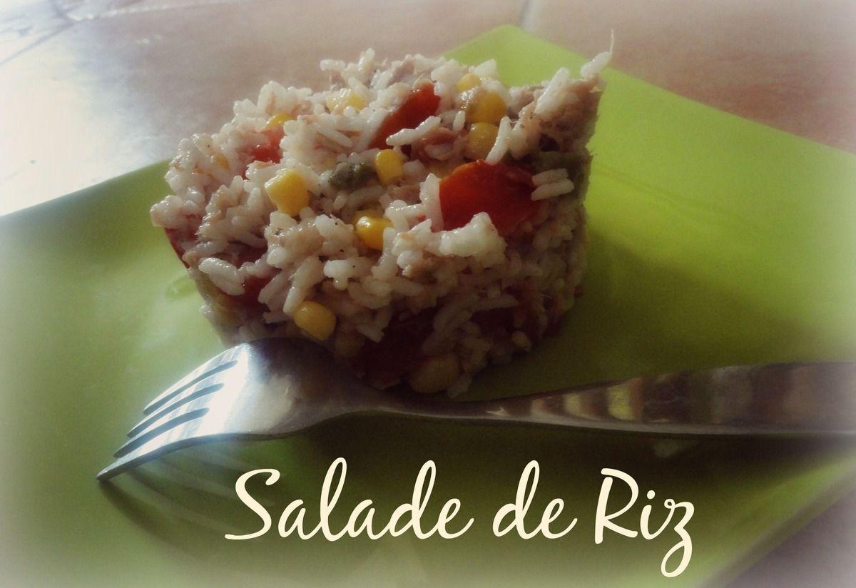 Salade de Riz - Les Recettes de Virgin'