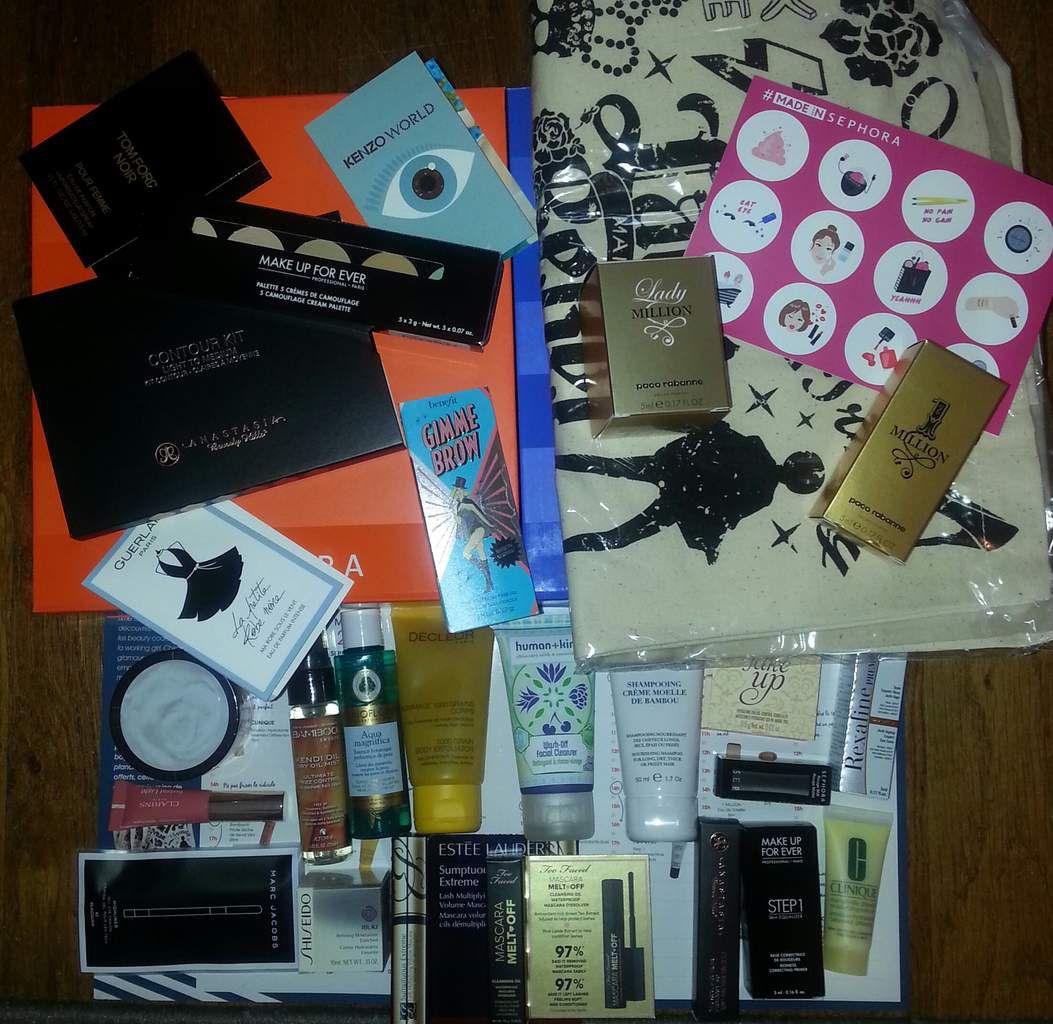 La box Sephora passée en revue + mes craquages [septembre 2016]
