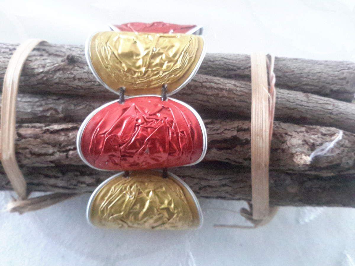Préférence Bracelet en capsules nespresso - Le blog des bijoux en pâte  LH23