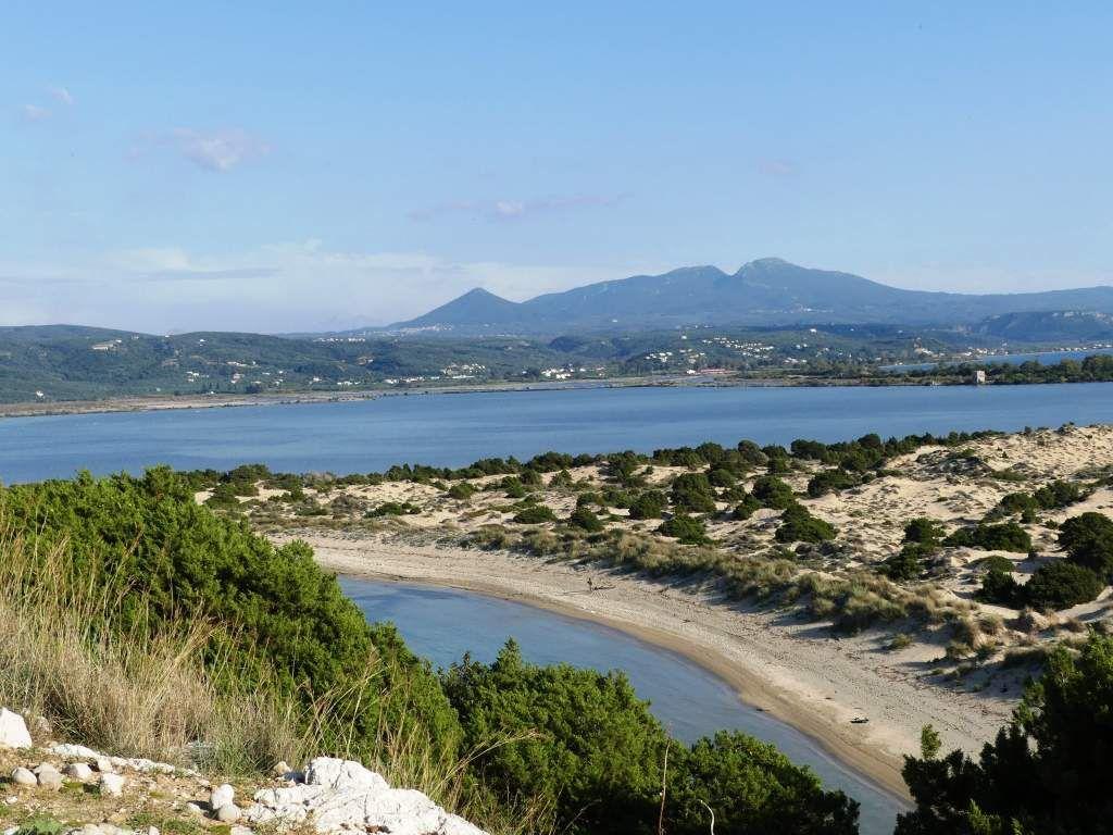 De partout nous avons une vue exceptionnelle sur la côte et les iles.