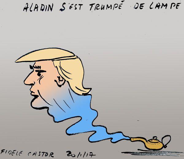 ALADIN S'EST TRUMPE DE LAMPE