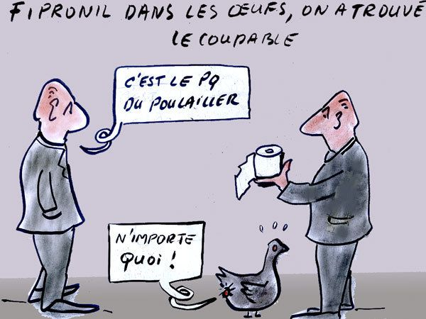 OEUF&#x3B; LE COUPABLE