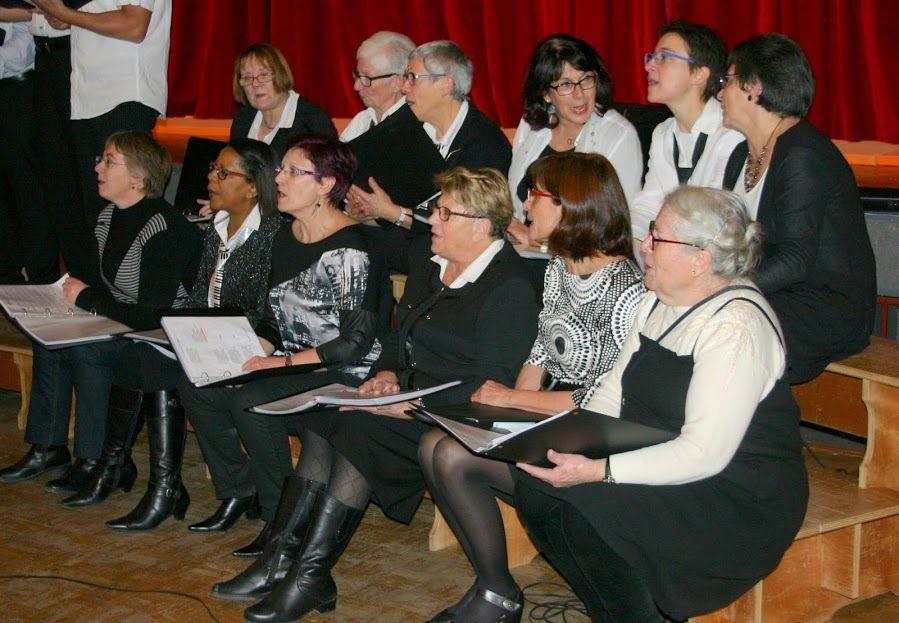 2014 : concert du téléthon a St Laurent
