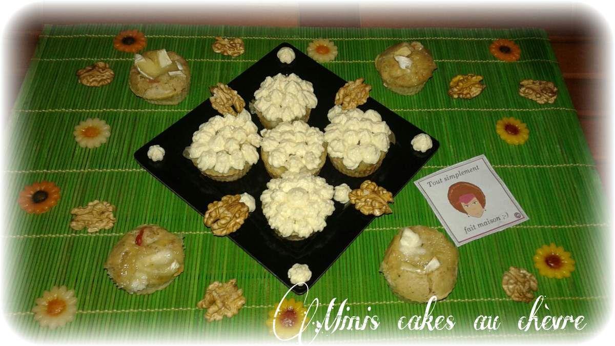 Minis cakes salés (façon cup cake) Battle Food #25