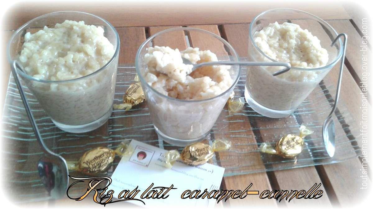 Riz au lait ♡ caramel-cannelle