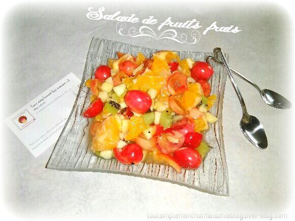 Salade de fruits jolie, jolie, jolie...