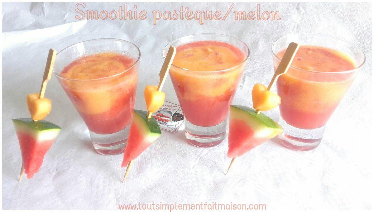 Smoothie pastèque/melon