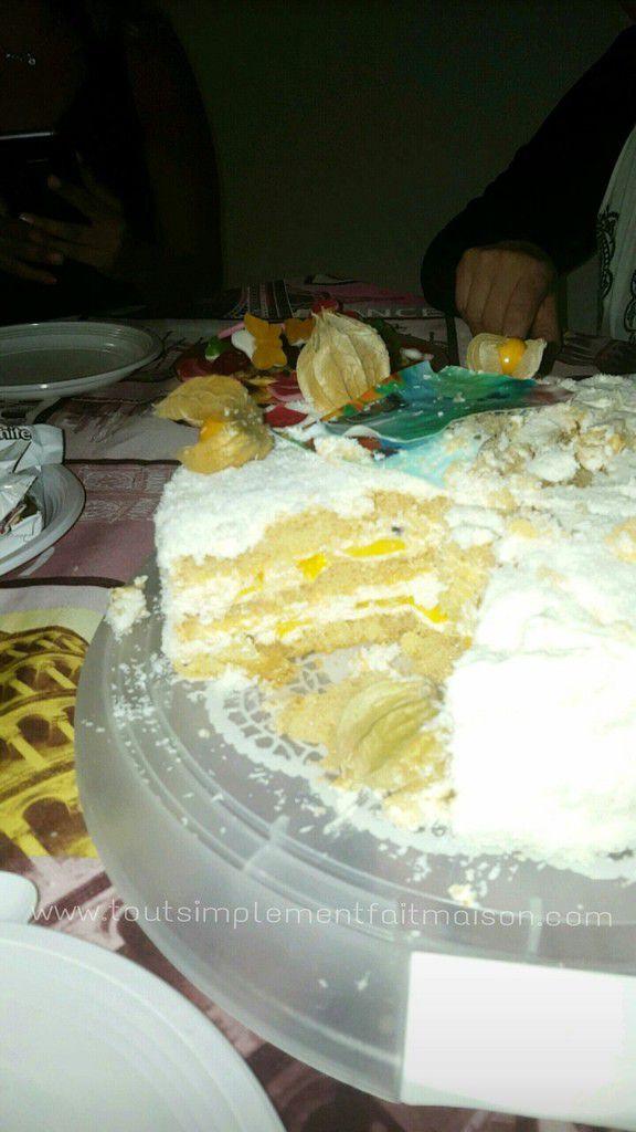 Ma version exotique ( physalis, grenadille, ananas, mangue, citron vert, coco). Merci Kamel pour ta confiance �