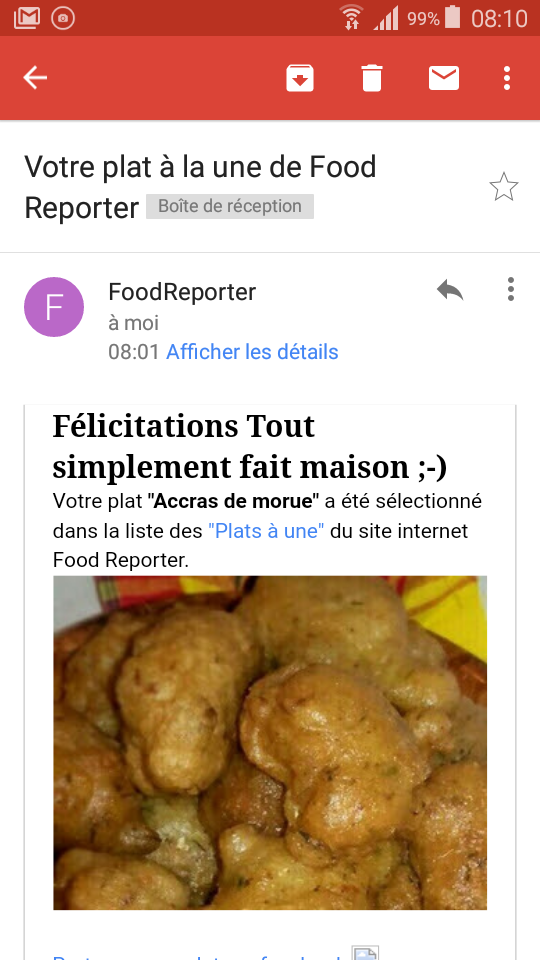 Merci Food Reporter �