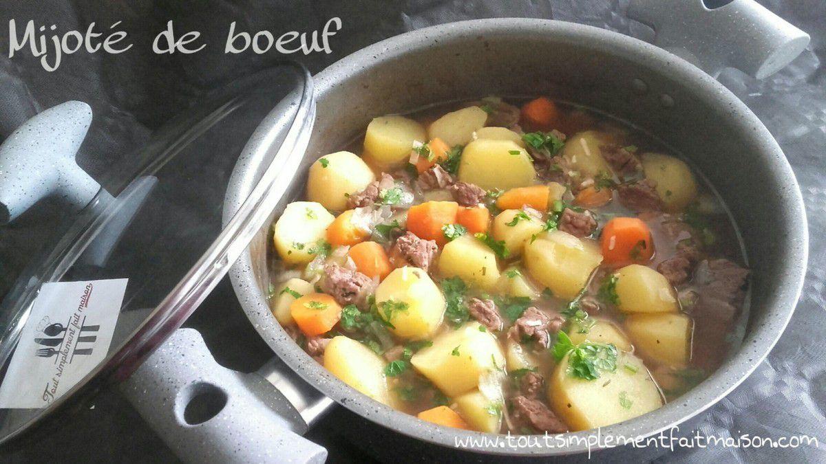 Mijoté de boeuf - Foodista Challenge #28
