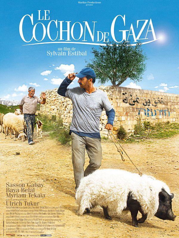 Le Cochon de Gaza : affiche du film