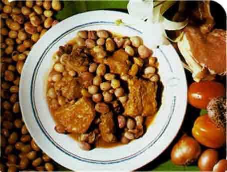 Porc aux pois bambara