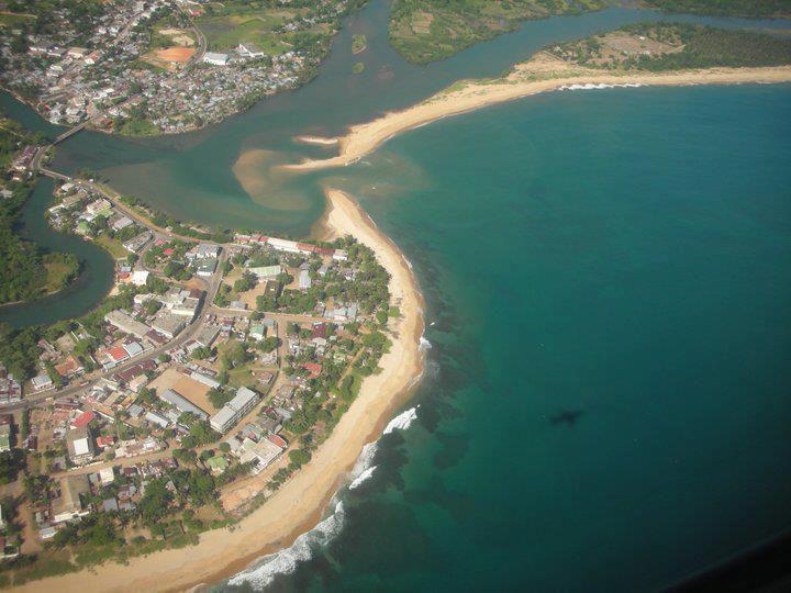 Vue aérienne Photo: Région SAVA
