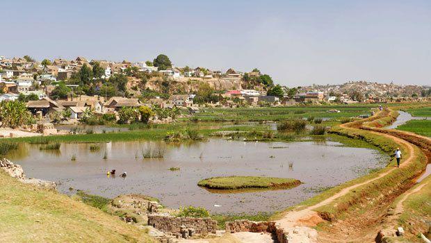 Un petit tour dans la zone suburbaine d'Antananarivo.