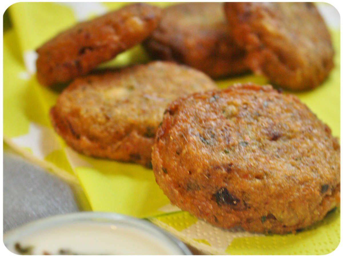Beignets de lentilles corail Le falafel from India  Massala vadai