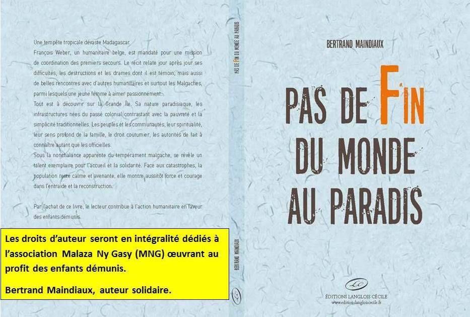 &quot&#x3B;Pas de fin du monde au paradis&quot&#x3B;, un roman qui raconte Madagascar.