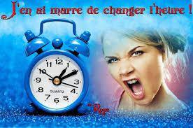 Dimanche, changement d'heure!